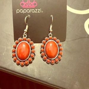 Maroon Paparazzi Earrings
